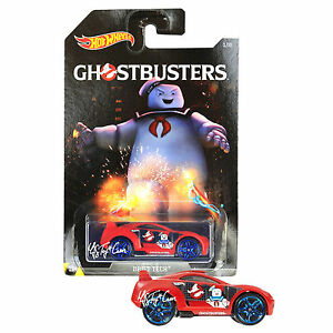 New Hot Wheels Die Cast Car Ghostbusters Exclusive Red