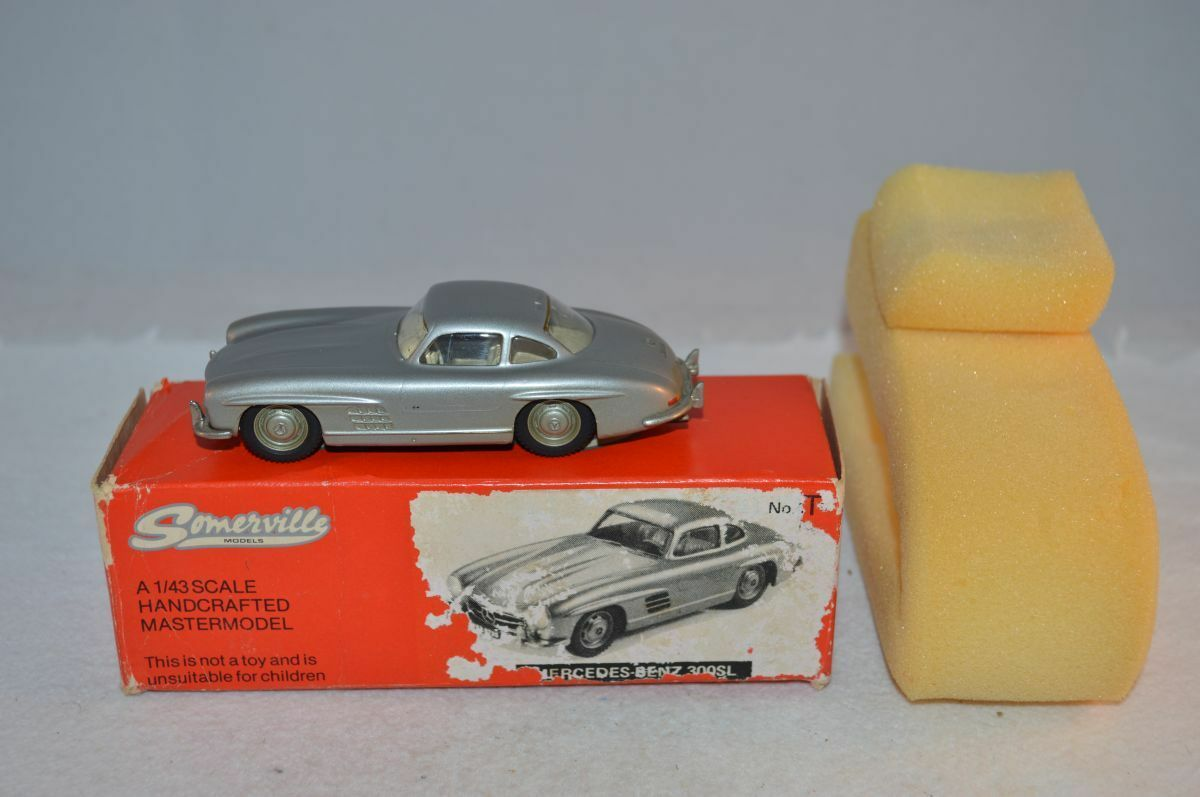 Somerville 105 Mercedes Benz 300 SL 1:43 perfect mint in box