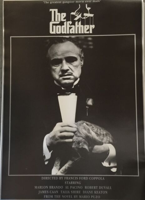 The Godfather - Greatest Gangster Movie Ever Made Poster 34 X 24