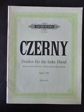 Noten für Klavier 3244 24 Etüden für die linke Hand op 718 Czerny Carl