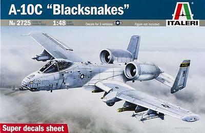 NEW Italeri 1/48 A-10C Blacksnakes 2725S