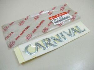 Original Kia Carnival 1998-le logo hayon 0k54a51741a NEUF  </span>