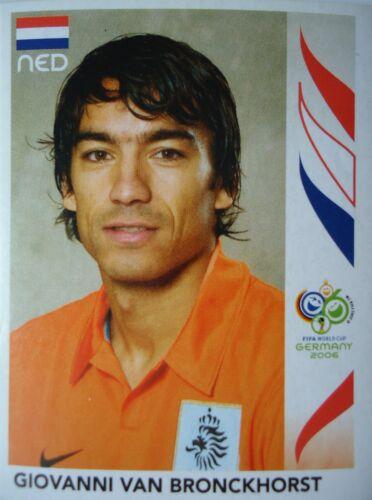 Panini 234 Giovanni van Bronckhorst Niederlande FIFA WM 2006 Germany