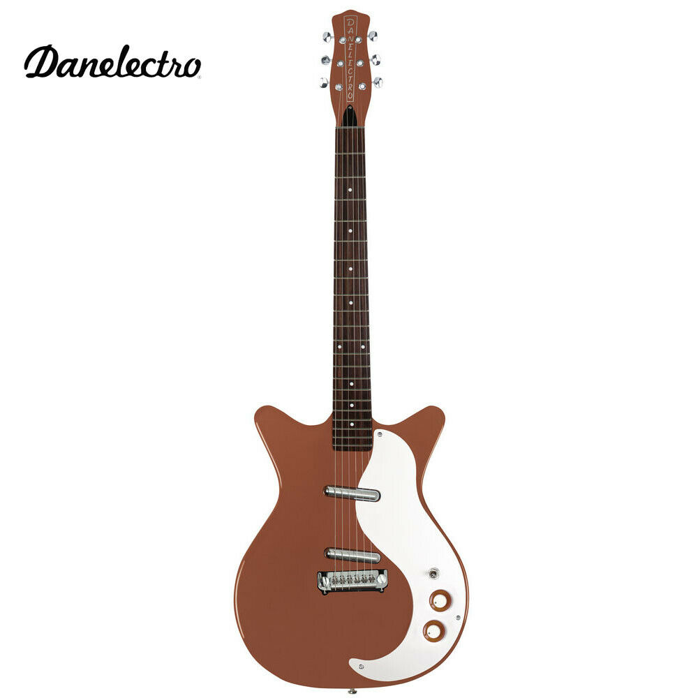 NEW DANELECTRO '59 MOD NEW OLD STOCK PLUS COPPER ELECTRIC GUITAR