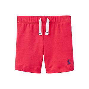 *BNWT* Baby Joules Infant Toddler Boys Josh Shorts Bright Red Soft Comfy