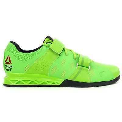 cc735524de8 Reebok Men s Crossfit Lifter Plus 2.0 Green Green Training Shoes V72385 NEW!