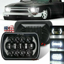 Brightest 5x7 7x6 Inch Rectangle Led Cree Headlight Drl For Toyota Pickup Truck Fits 1996 Toyota Tacoma