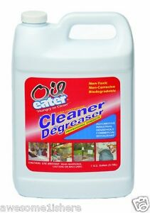 Oil spill cleaner degreaser 1 gallon garage concrete for Garage concrete cleaner