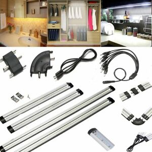 30-50cm-LED-Under-Cabinet-Strip-Light-Touch-Switch-Plug-Connector-Home-Kitchen