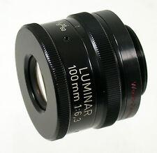 Carl Zeiss Luminar Linhof 6,3/100 100 100 mm f6, 3 lupenobjektiv Loupe lens macro