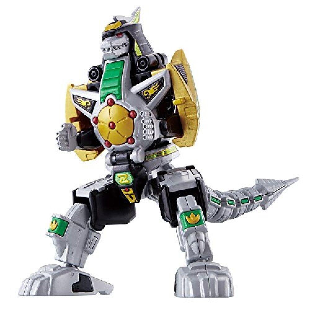 Power Rangers Super Mini Pla vert dragonzord Model Kit du Japon