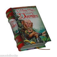 Mini Libro Coleccionable El Mundo Mágico De Los Duendes Ilustrado Pasta Dura Col