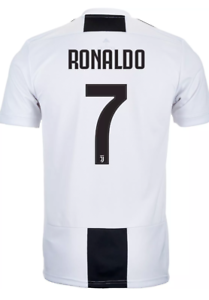 a93de0d24 ADIDAS 18/19 JUVENTUS FC CRISTIANO RONALDO #7 HOME JERSEY US MEN'S ...