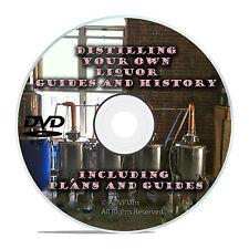 How to Make Alcohol Moonshine Whiskey-Complete Distiller Guides Plans CD DVD V20