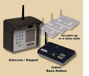 gto f4100mbc estate series digital keypad intercom system wireless only kit ebay. Black Bedroom Furniture Sets. Home Design Ideas