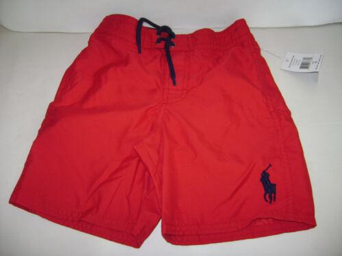 888978176305 Polo Lauren Blue Size Swim 5 Ralph Boys Trunks Pony Big Nwt Red Shorts OHwEqdaHx