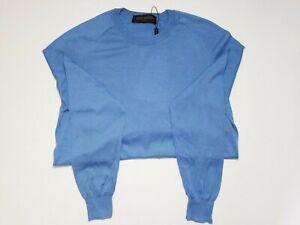 Louis-Vuitton-Classic-Cotton-Silk-Cashmere-Blend-Crew-Neck-Sweater-M
