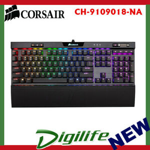 Details about Corsair K70 RGB MK 2 Rapidfire Low Profile Gaming Keyboard -  Cherry MX Speed