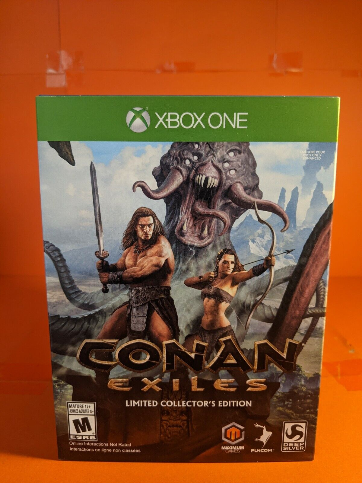 Conan Exiles Limited Collector's Edition Brand New Sealed