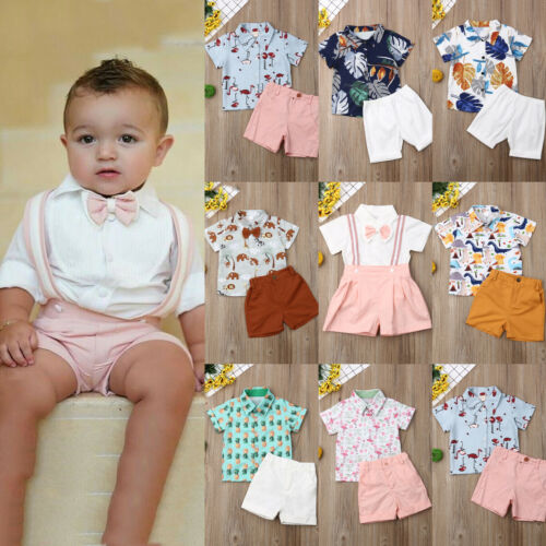 Baby Clothes Toddler Boys Kids Boy Clothes T-shirt Top+Pants Clothes Outfits Set