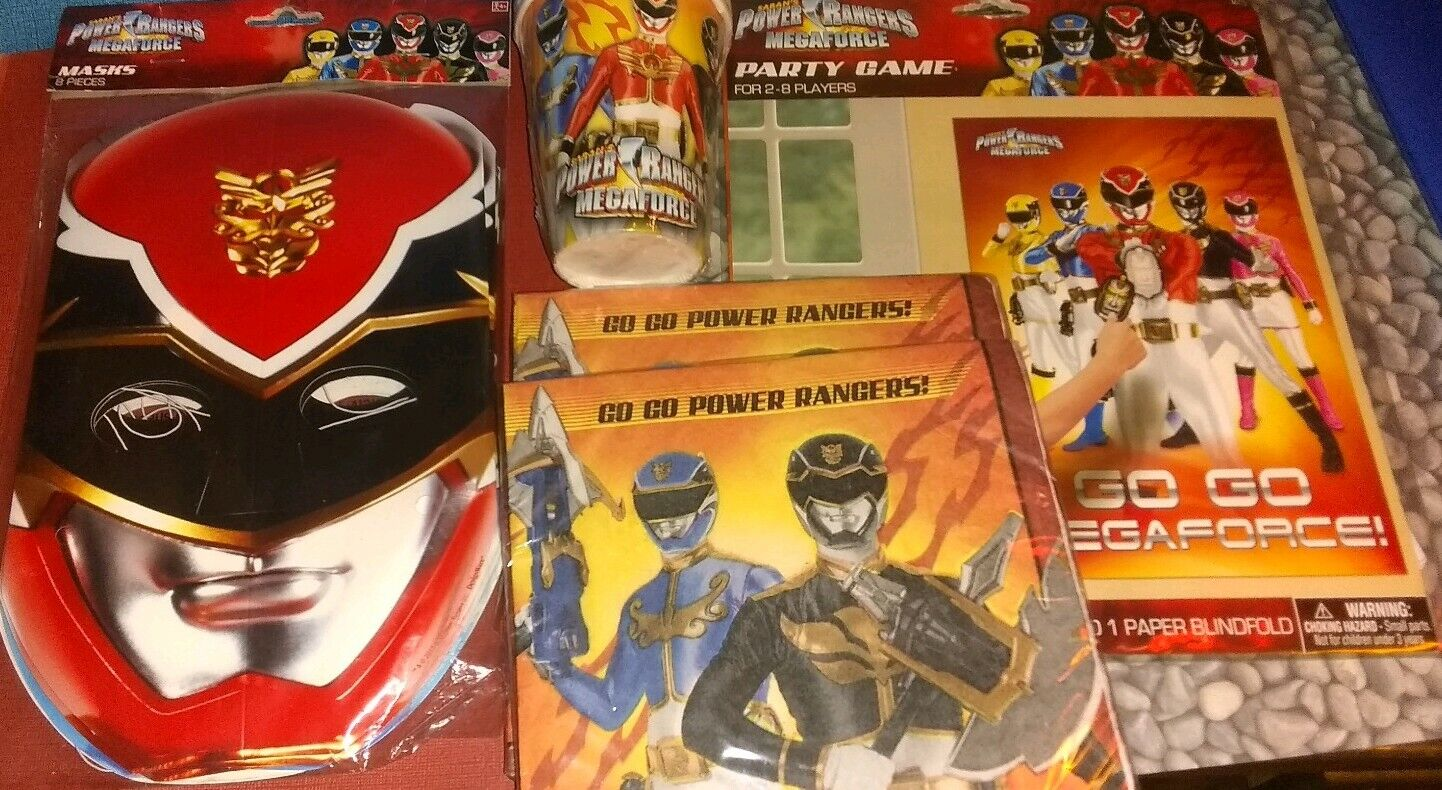 Power rangers megaforce Very Hard To Find Party Favors