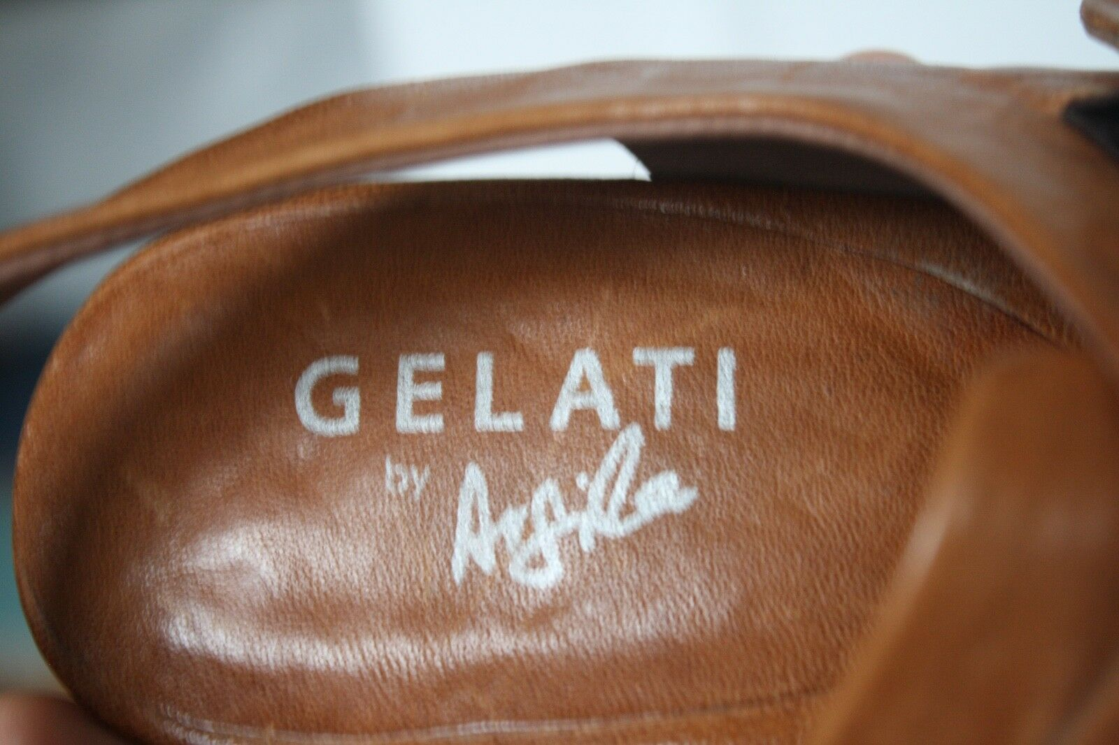 Gelati by Argila - Brown Pepe Monjo 40.5 10.5 Brown - Leather Buckle Shoes Sandals 365072
