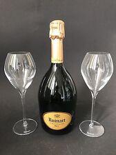 Ruinart Champagne Brut Champagner Flasche 0,75l 12% Vol + 2 Ruinart Gläser