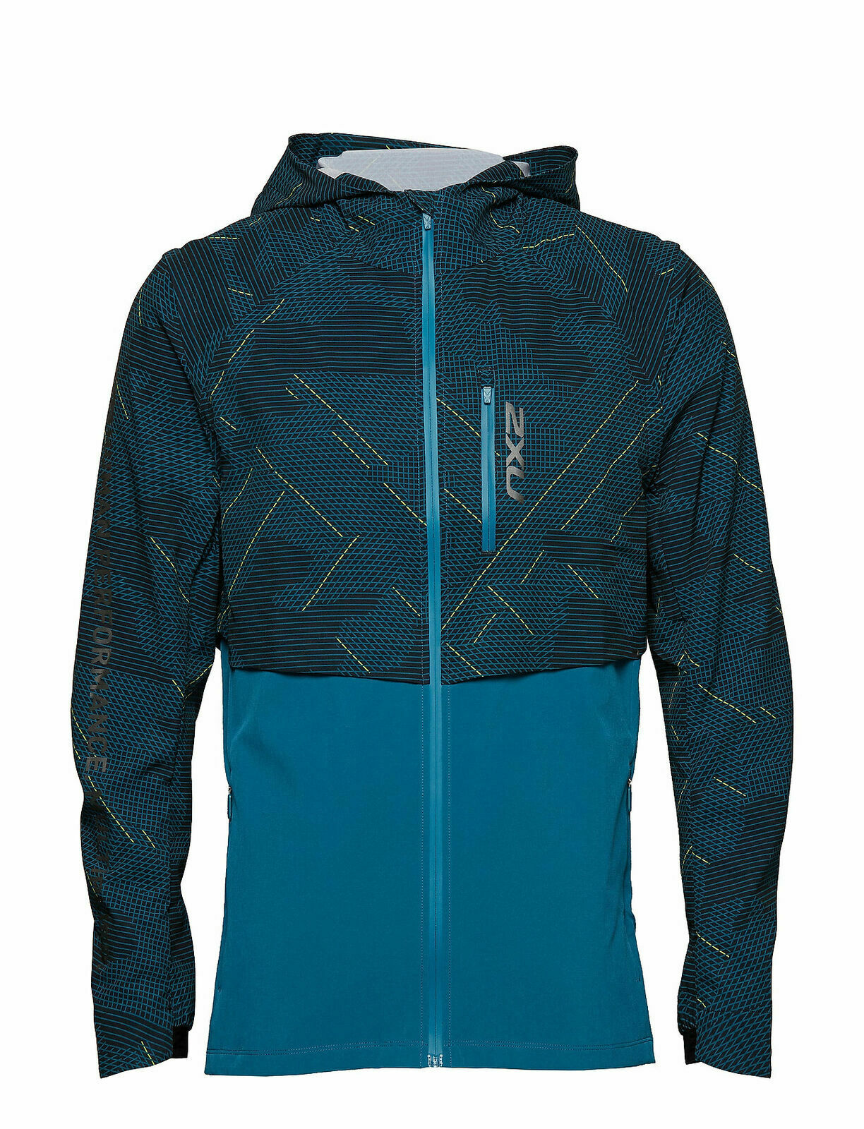 2XU GHST Running Active Jacket 2 in 1 Woven Linear Camo, Men's X-Small RRP