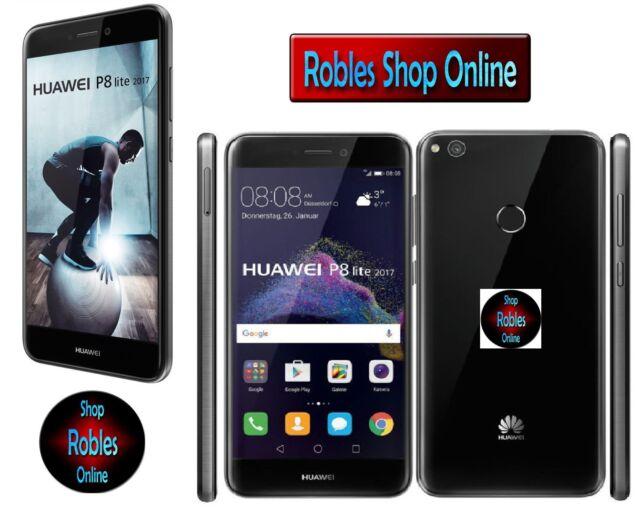 "Huawei P8 Lite 2017 16GB  (Dual Sim) Black (Ohne Simlock) LTE 5,2"" WLAN TOP OVP"