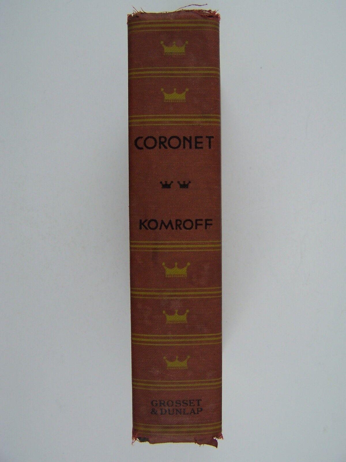 Manuel Komroff: Coronet Hardcover 1930