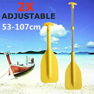 2Pack-Split-Kayak-Paddle-Canoe-Boat-Dinghy-Oar-Aluminium-Inflatable-Adjustable