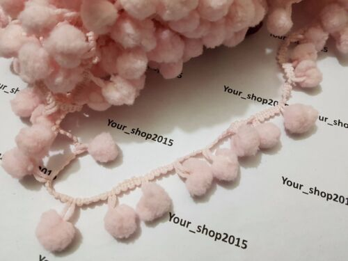 1 YARD Beautiful stylish Pom Pom Trim Ball lace trimming Sewing making craft