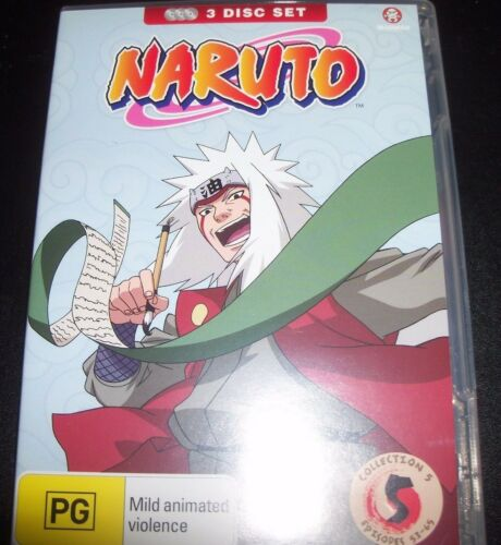 1 of 1 - Naruto Collection 5 episodes 53 - 65 (Australia Region 4) DVD – Like New