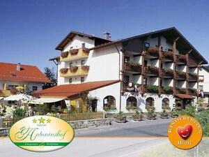 7 T Bien-être Escapade Dans L'hôtel Antoniushof 3*s Bavaroise Forêt Pour 2 Personnes. + Hp-afficher Le Titre D'origine