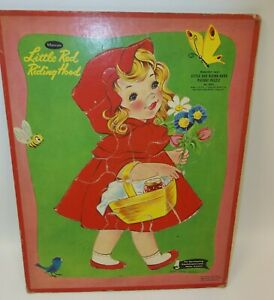 Vintage-Whitman-Picture-Puzzle-Toy-Little-Red-Riding-Hood