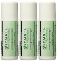 Sombra Natural Pain Relieving Gel- 3 Oz. Roll-on (pack Of 3)