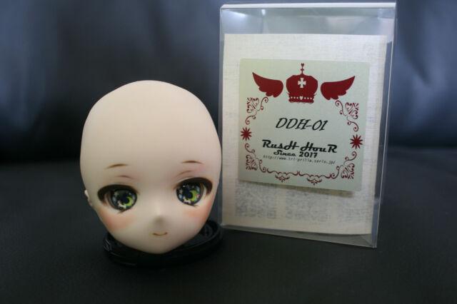 MakeOffer Volks Dollfie Dream Head Parts DDH-05 Semi-White Skin Eye Hole open