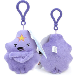 Adventure-Time-Lumpy-Princess-Plush-Key-Chain-Clip-On-Plush-Doll-Key-chain