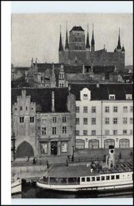 DANZIG-Gda-sk-Pommern-Polen-Polska-Poland-AK-um-1960-alte-Postkarte