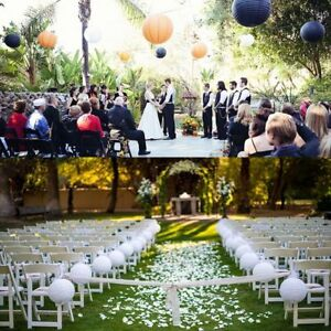 "2pcs 6/"" 8/"" 10/"" 12/"" Lamp Shade Lampion Ball Paper Lantern Wedding Decoration"