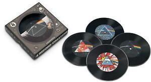Pink-Floyd-Vinile-Bevande-Sottobicchieri-Set-NM