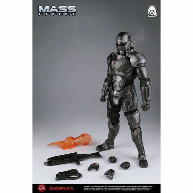 Threezero Mass Effect 3 Commander Shepard 1 6 Scale Action Figure