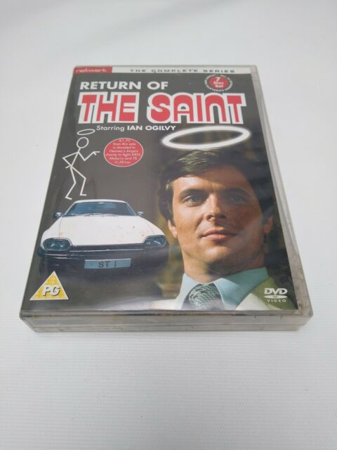 Ian Ogilvy, Norman Eshley-Return of the Saint: Th (UK IMPORT) DVD [REGION 2] NEW