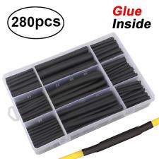 280pcs 31 Dual Wall Adhesive Heat Shrink Tubing Kit 5 Sizes Diameter 38 For