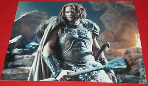 EDGAR-RAMIREZ-SIGNED-WRATH-OF-TITANS-ARES-STILL-PHOTO-AUTOGRAPH-COA-HANDS-STONE