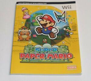 Super Paper Mario Nintedo Wii Lösungsbuch Das offizielle Buch