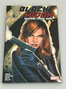 Black Widow Welcome to the Game Graphic Novel TPB