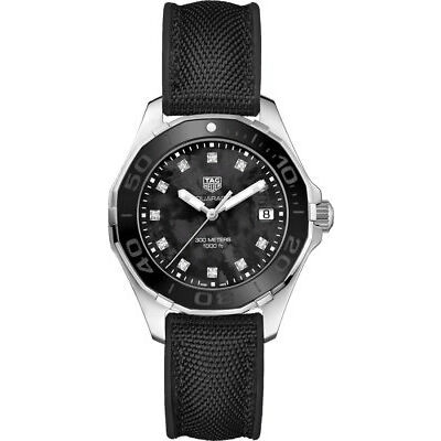 WAY131M.FT6092 | Brand New Women's Tag Heuer Aquaracer 35mm Diamond Watch