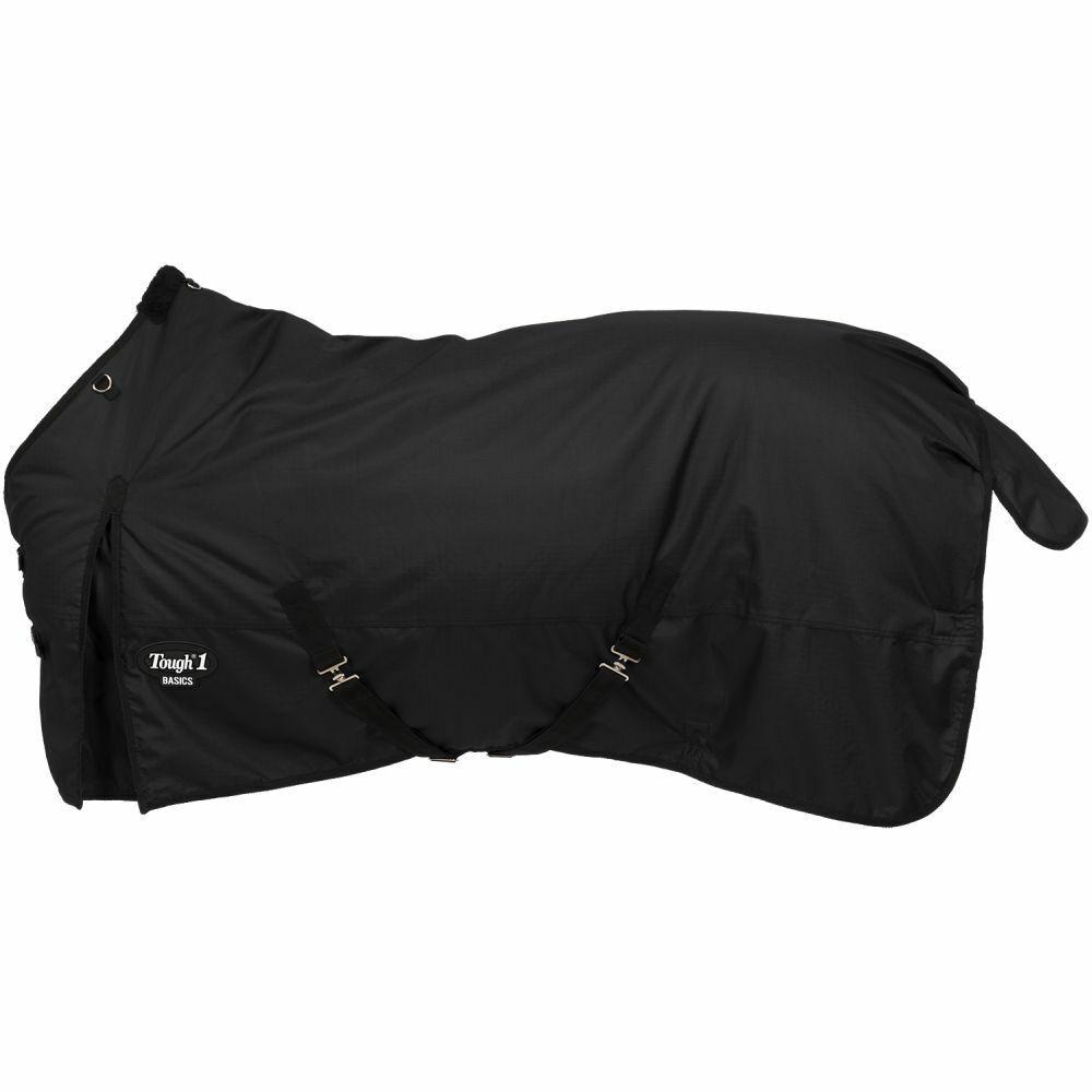 Harde 1 Winter Horse Turnout Blanket Medium Zwaargewicht 1200D Zwart