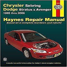 2001 chrysler sebring sedan haynes manual